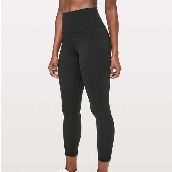 021b20a85f9156 Lulu lemon highwaisted black align leggings size 4.  M_5c6e1c2df63eeaeb50e1be99